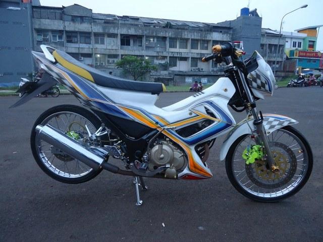 Satria F150 Airbrush